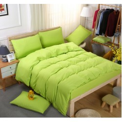 Едноцветно спално бельо със завивка -  ЛАЙМ от StyleZone
