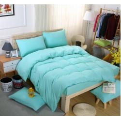 Едноцветно спално бельо със завивка - ПЕТРОЛЕНО от StyleZone