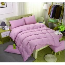 Едноцветно спално бельо със завивка -  СВЕТЛОЛИЛАВО от StyleZone
