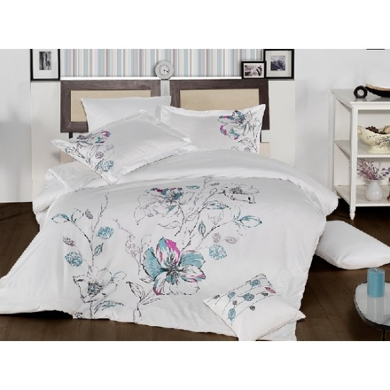 Вип спално  бельо  от висококачествен сатениран памук -Eldora от StyleZone