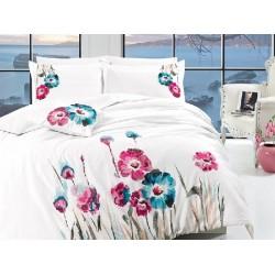 Вип спално  бельо  от висококачествен сатениран памук -Felecia от StyleZone