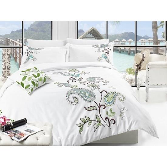 Вип спално  бельо  от висококачествен сатениран памук -Nancy от StyleZone