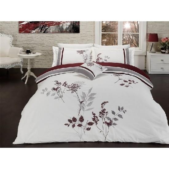 Вип спално  бельо  от висококачествен сатениран памук - Roselinda от StyleZone