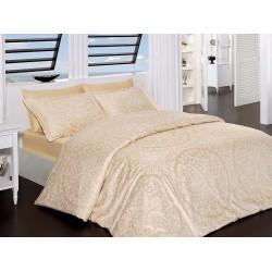 Луксозно спално бельо от сатениран памук- Venessa golden от StyleZone