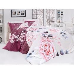 Луксозно спално бельо от сатениран памук- Odile от StyleZone