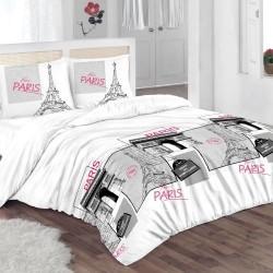 Стандартна калъфка за възглавница от 100% памук- ПАРИЖ от StyleZone