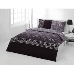 Стандартна калъфка за възглавница от 100% памук - ЧЕРЕН МЕАНДЪР от StyleZone