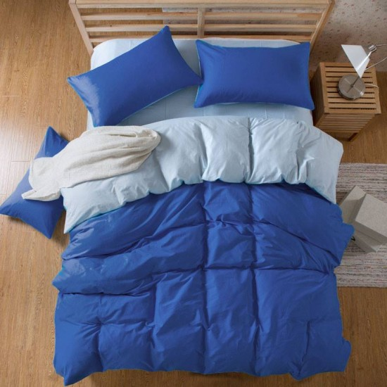Двуцветно спално бельо със завивка - ПИРЕЯ от StyleZone