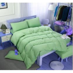 Едноцветно спално бельо със завивка -  ЗЕЛЕНО от StyleZone