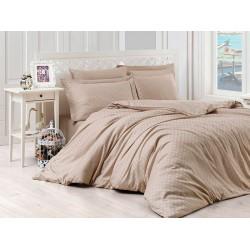 Луксозно спално бельо от сатениран памук - Brenna от StyleZone