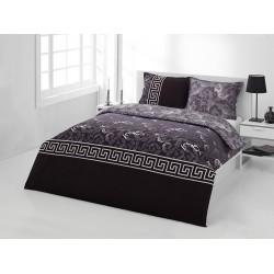 Спално бельо с олекотена завивка - БЛЕК МЕАНДЪР от StyleZone