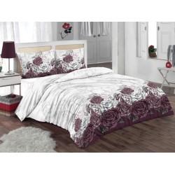 Спално бельо от 100% памук с олекотена завивка -  РОМАНТИК от StyleZone