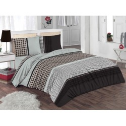 Спално бельо 100% памук  с олекотена завивка - РЕМИ от StyleZone