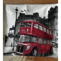 Испанска декоративна винтидж възглавница - ЛОНДОН от StyleZone