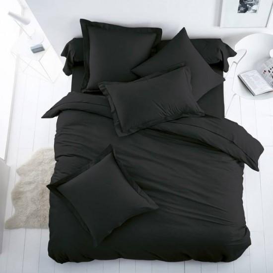 Плик за олекотена завивка от 100% памук - ЧЕРЕН от StyleZone