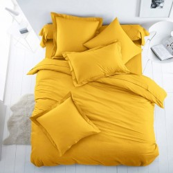 Плик за олекотена завивка от 100% памук - ЯРКО ЖЪЛТО от StyleZone