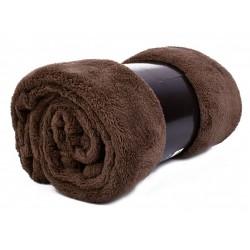Едноцветно одеяло - КАФЕ от StyleZone