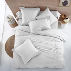 Плик за олекотена завивка от 100% памук - БЯЛ от StyleZone