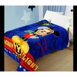 Меко детско одеяло 150/200 см - МИКИ АКАДЕМИЯ от StyleZone