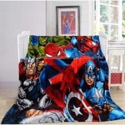 Меко детско одеяло 150/200 см - ГЕРОИ от StyleZone