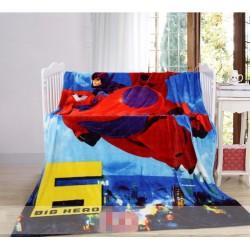 Меко детско одеяло 150/200 см  - БИГ ХЕРО от StyleZone