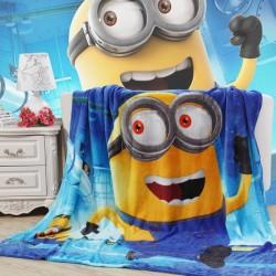 Меко детско одеяло 150/200 см - Миньоните от StyleZone