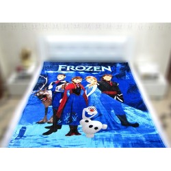 Меко детско одеяло 150/200 см - ФРОУЗЕН С ГЕРОИ от StyleZone