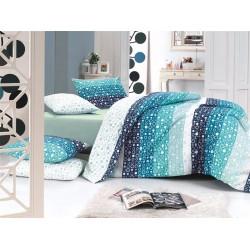 Лимитирана колекция спално бельо - Maya turkuaz от StyleZone
