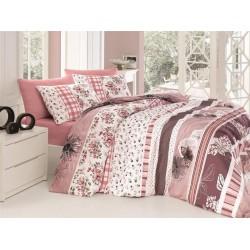 Лимитирана колекция спално бельо - Bennu pudra от StyleZone