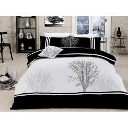 Вип спално  бельо  от висококачествен сатениран памук -Olinda siyah от StyleZone