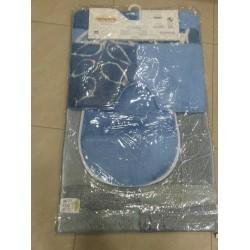 Комплект килимчета за баня 3 части - СИН от StyleZone