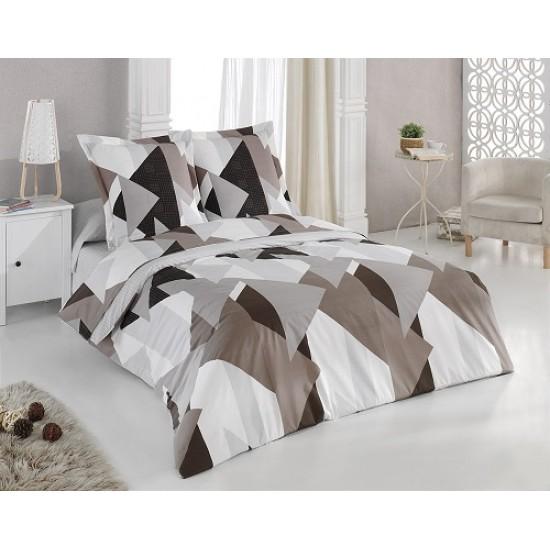Българско спално бельо от 100% памук - ШОКОЛАД от StyleZone