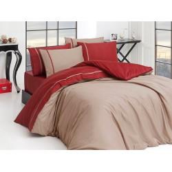 Спален комплект - Сатен - Визон бордо от StyleZone