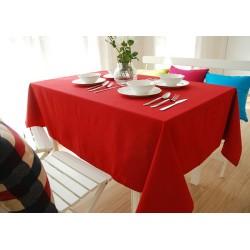 Едноцветна покривка за маса - ЧЕРВЕНА от StyleZone