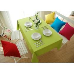 Едноцветна покривка за маса - ЛАЙМ от StyleZone