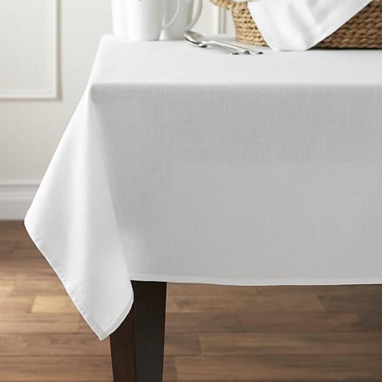 Едноцветна покривка за маса - БЯЛА от StyleZone