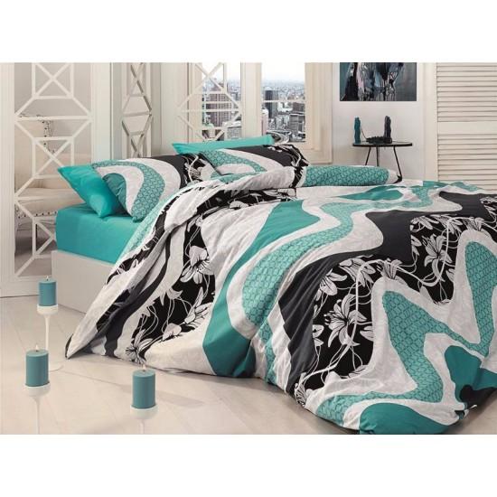 Лимитирана колекция спално бельо -wave TURKUAZ от StyleZone