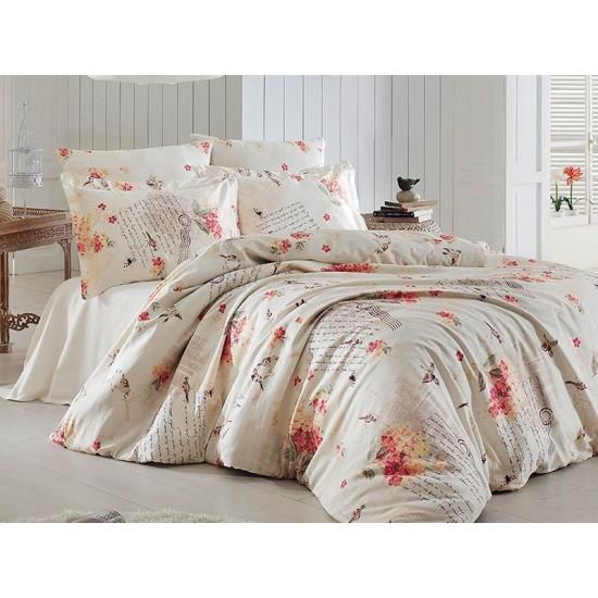 Луксозно спално бельо от  сатениран памук- CLARINDA GUZ от StyleZone