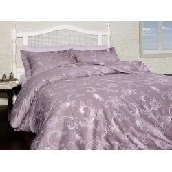 Луксозно спално бельо от  сатениран памук- CARMINA LEYLAK от StyleZone