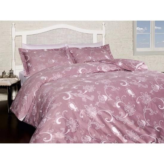 Луксозно спално бельо от  сатениран памук- CARMINA GUL KURUSU от StyleZone