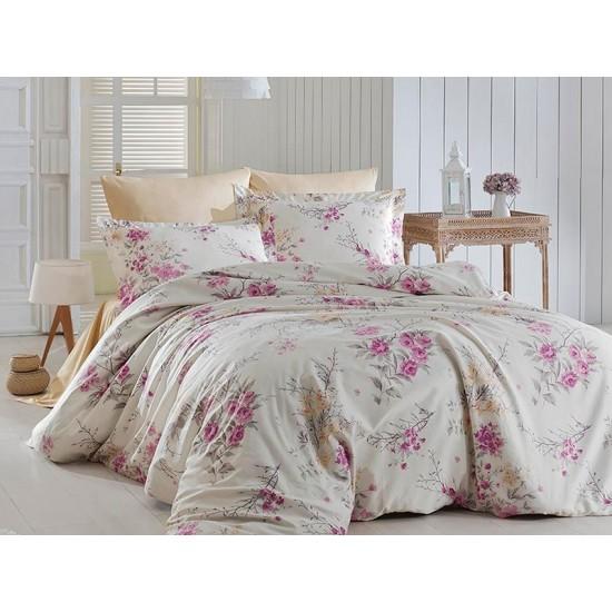 Луксозно спално бельо от  сатениран памук - LEEANA GUL KURUSU от StyleZone