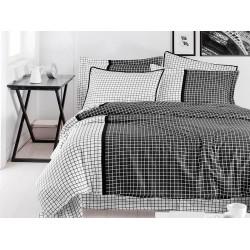 Луксозно спално бельо от сатениран памук- ERMIA FUME от StyleZone