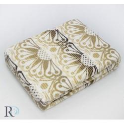 Стилно памучно одеяло  - БЕЖОВИ ОРНАМЕНТИ от StyleZone