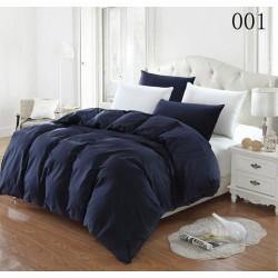 Двуцветно спално бельо от 100% памук ранфорс (черно/бяло) от StyleZone