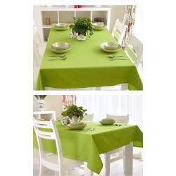 Едноцветна покривка за маса - ЗЕЛЕНА от StyleZone