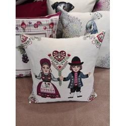 Испанска декоративна възглавница с цип - ИГРА от StyleZone