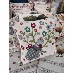 Испанска декоративна възглавница с цип - КЛАРА от StyleZone