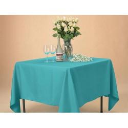 Едноцветна покривка за маса - ТЮРКОАЗ от StyleZone