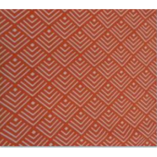 Луксозна покривка за маса - ГЕОМ ОРАНЖ от StyleZone