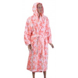 Удобен халат за баня 100% памук- ЛОРА от StyleZone